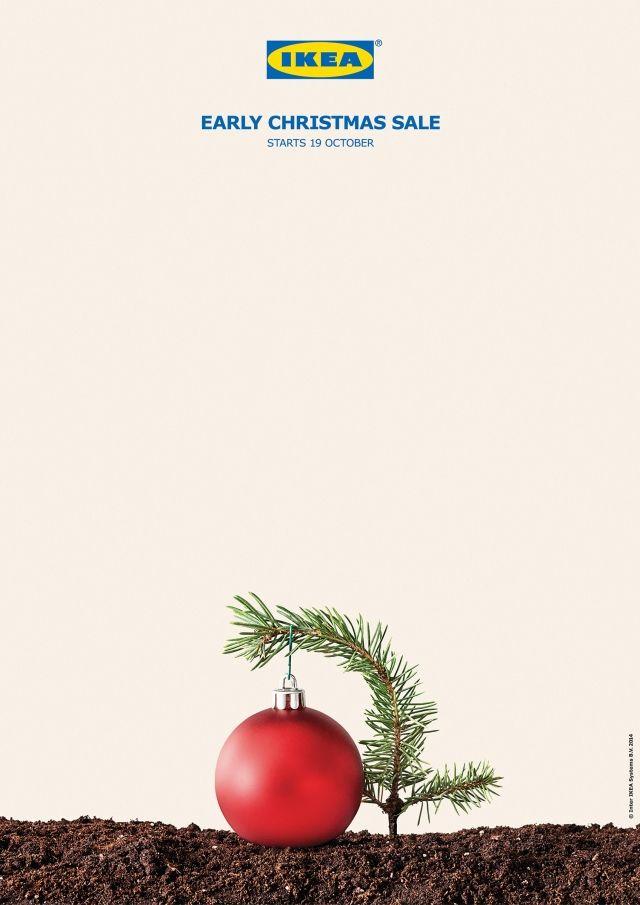 Print Advertising Ikea Early Christmas Sale Advertisingrowcom