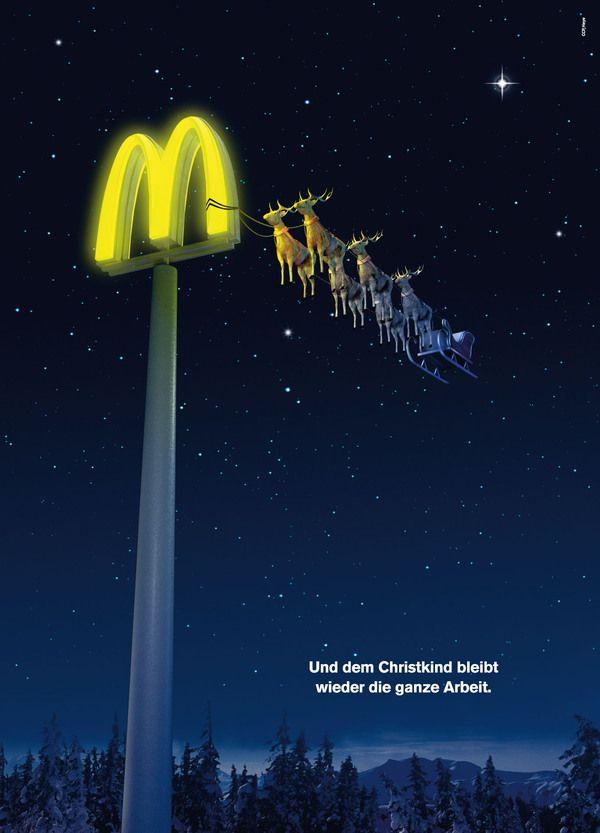 saying mcdonalds christmas ad - 600×833
