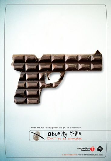 Advertising-Campaign-OBESITY-KILLS Advertising Campaign : OBESITY KILLS.