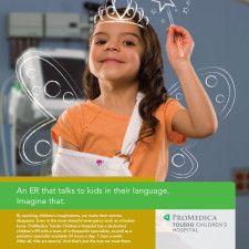 Healthcare Advertising : ad design for ProMedica at Toledo