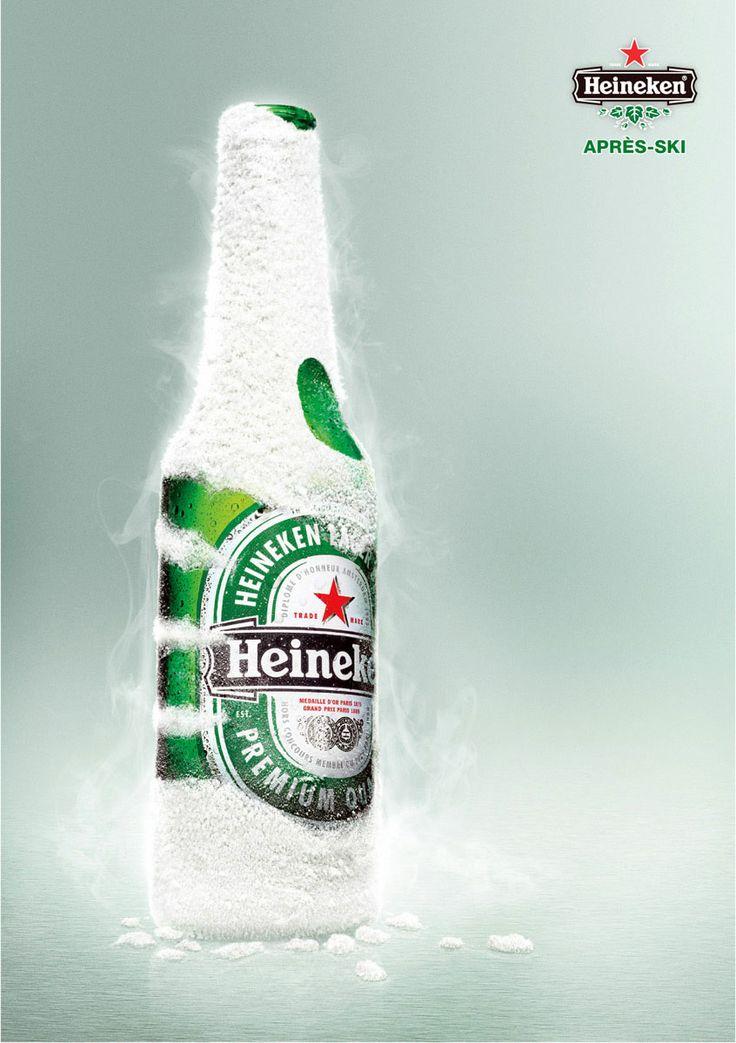 Print-Advertising-Heineken-After-ski-PD Print Advertising : Heineken: After ski PD
