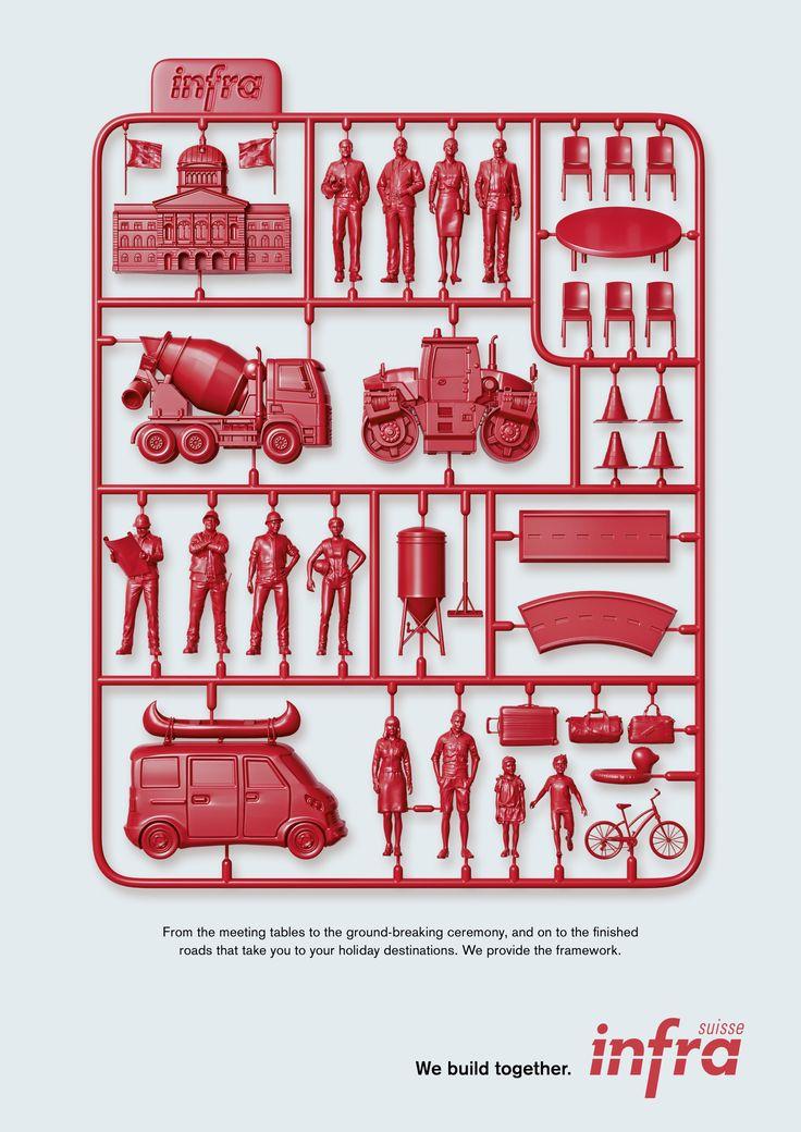 Print-Advertising-Infra-Suisse-We-build-together-roads-Ads-of-the-World™ Print Advertising : Infra Suisse: We build together - roads | Ads of the World™