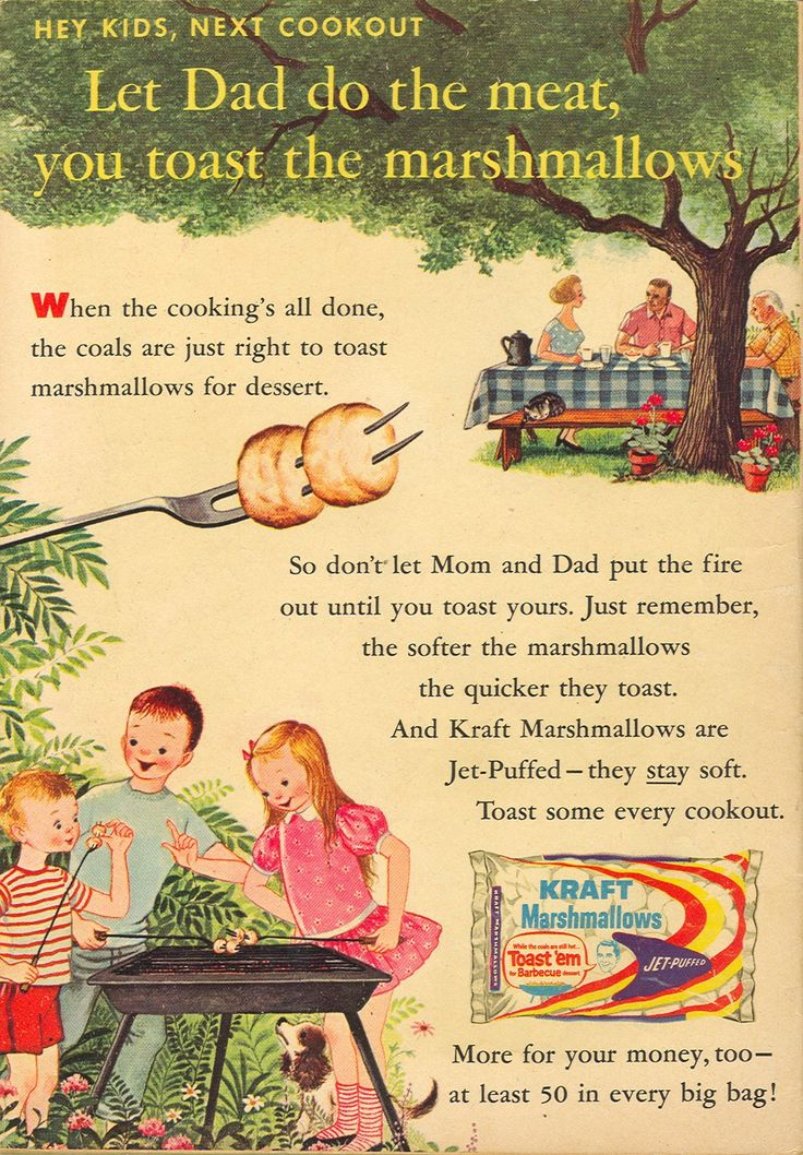 Vintage-Ads-A-charming-vintage-marshmallow-ad Vintage Ads : A charming vintage marshmallow ad