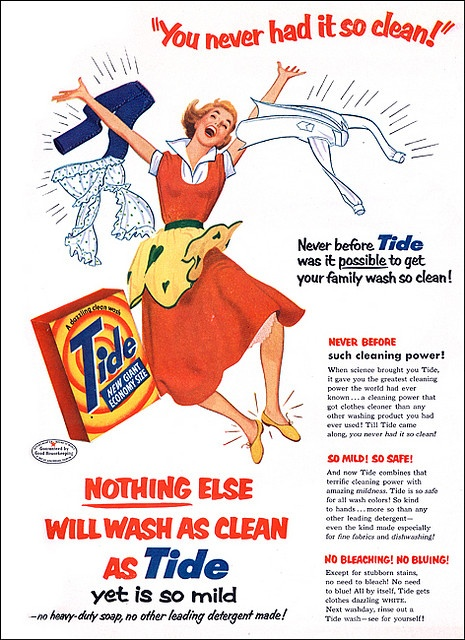Vintage-Ads-A-heavy-dose-of-excitement-in-homemaking-1950s-laundry Vintage Ads : A heavy dose of excitement in homemaking ~1950s laundry
