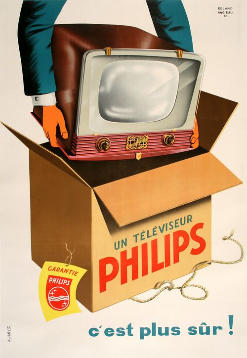 Vintage-Ads-Philips-TV Vintage Ads : Philips TV