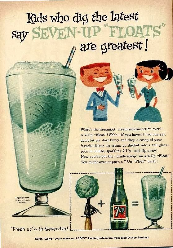 Vintage-Advertising-7-up Vintage Advertising : 7 up
