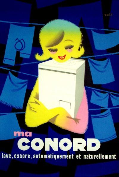 Vintage-Advertising-Conord-vintage-advert-ad-1956 Vintage Advertising : Conord vintage advert / ad 1956