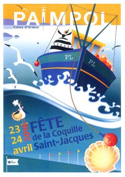 Vintage-Advertising-Fête-de-la-coquille-Saint-Jacques-Paimpol-Office-de-tourisme-Paimpol… Vintage Advertising : Fête de la coquille Saint Jacques - Paimpol   Office de tourisme Paimpol…