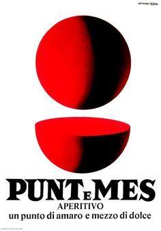Vintage-Advertising-Punt-e-Mes-Aperitivo-Armando-Testa Vintage Advertising : Punt e Mes Aperitivo ~ Armando Testa