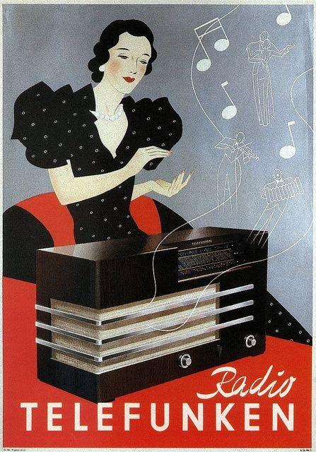 Vintage-Advertising-Telefunken Vintage Advertising : Telefunken