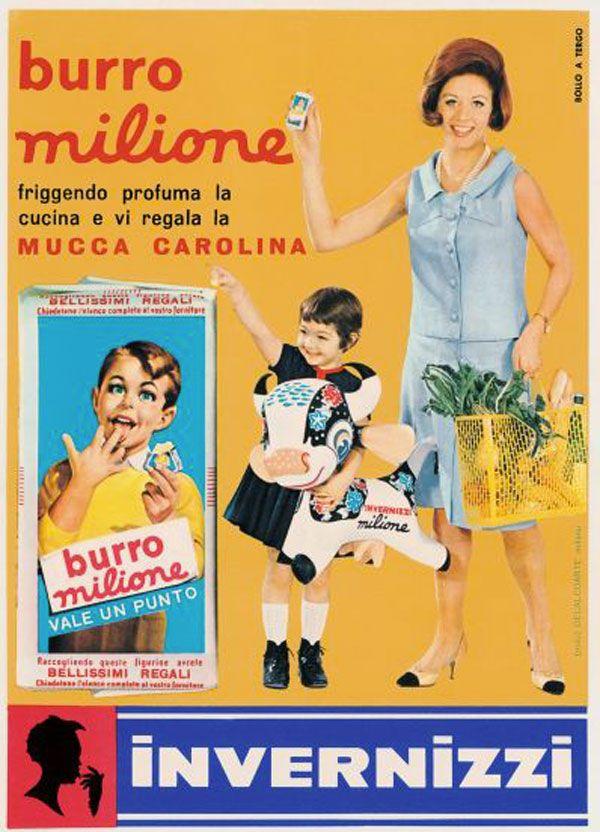 Vintage-Advertising-burro-milione-mucca-carolina Vintage Advertising : burro milione mucca carolina