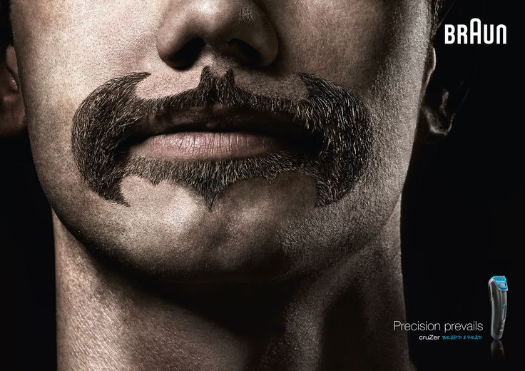 Advertising-Campaign-Braun39s-Precision-Trimmer Advertising Campaign : Braun Batman Ad