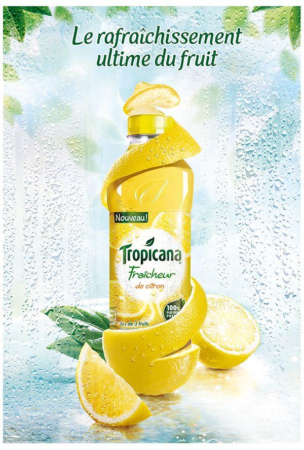 Advertising-Campaign-Tropicana-Fraicheur-Campaign Advertising Campaign : Tropicana  Fraicheur Campaign
