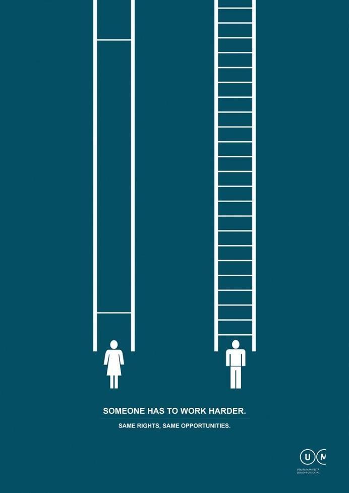 Advertising-Campaign-Un-visuel-intelligent-pour-sensibiliser-à-l39égalité-des-sexes Advertising Campaign : Un visuel intelligent pour sensibiliser à l'égalité des sexes
