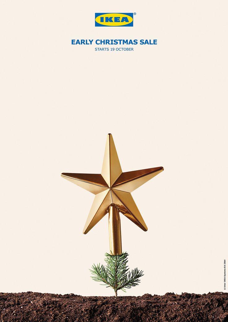 Print Advertising Adeevee Ikea Early Christmas Sale