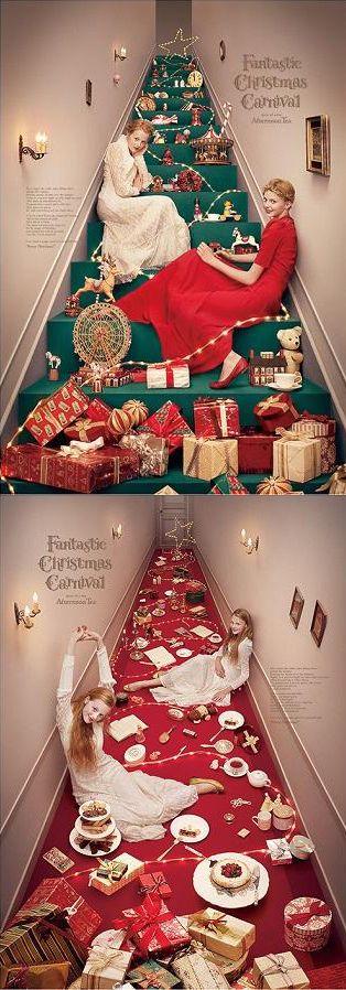 Print-Advertising-adv-Fantastic-Christmas-Carnival-by-Yuni-Yoshida Creative Advertising : adv / Fantastic Christmas Carnival by Yuni Yoshida