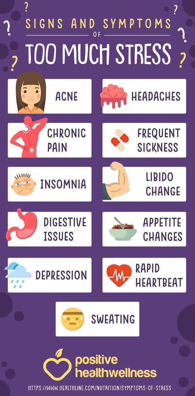 Psychology Infographic : 11 Signs And Symptoms Of Too Much ...