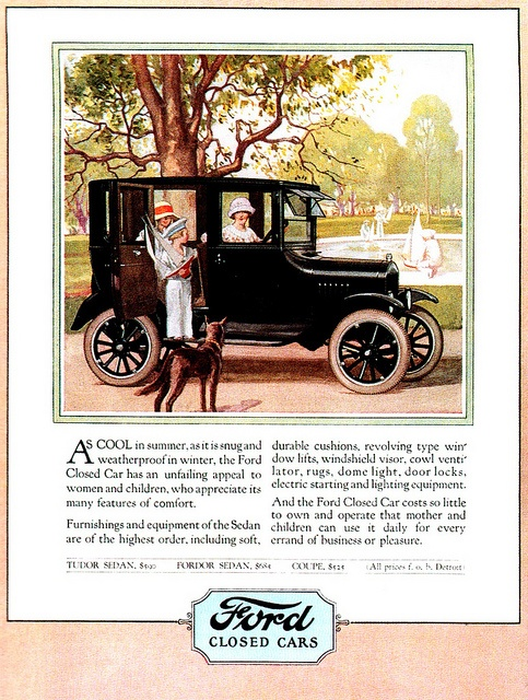 Vintage-Ads-1924-Ford-Model-T Vintage Ads : 1924 Ford Model T