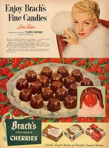 Vintage-Ads-Brach39s-cherries Vintage Ads : Brach's cherries