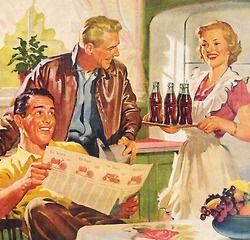 Vintage-Ads-Coca-Cola-Hospitality-1953 Vintage Ads : Coca Cola Hospitality - 1953