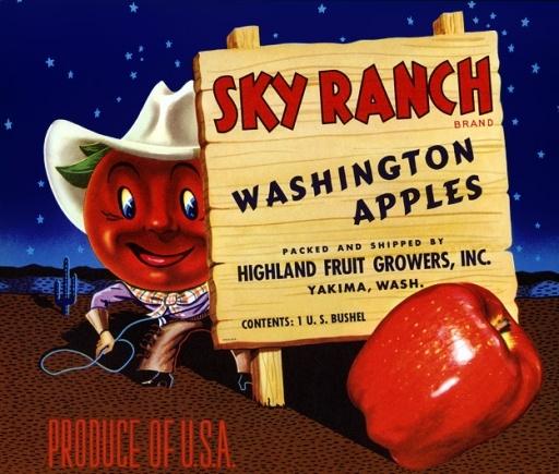 Vintage-Ads-Sky-Ranch-Apples Vintage Ads : Sky Ranch Apples