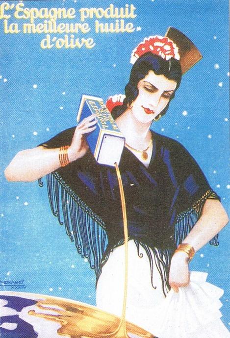 Vintage Advertising : By Rafael de Penagos (1889-1954