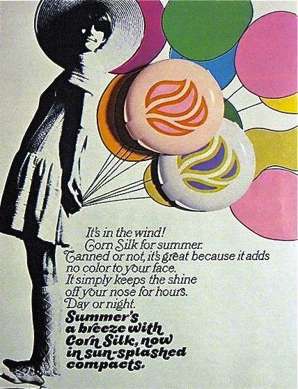 Vintage-Advertising-Corn-Silk-1968 Vintage Advertising : Corn Silk, 1968
