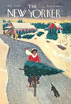 Vintage-Advertising-New-Yorker-Christmas-Covers-Artist-Garrett-Price Vintage Advertising : New Yorker Christmas Covers Artist: Garrett Price