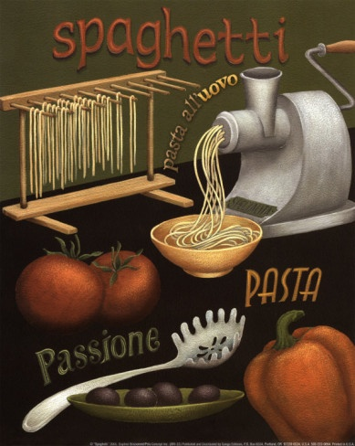 Vintage-Advertising-Spaghetti-Poster-...-Daphne-Brissonnet Vintage Advertising : Spaghetti Poster ... Daphne Brissonnet