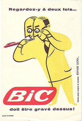 Vintage-Advertising-Vintage-Advertising-Poster-Bic Vintage Advertising : Vintage Advertising Poster | Bic