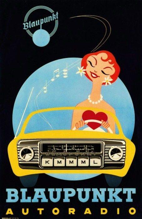 Vintage-Advertising-Vintage-Blaupunkt-AutoRadio-ad Vintage Advertising : Vintage Blaupunkt AutoRadio ad