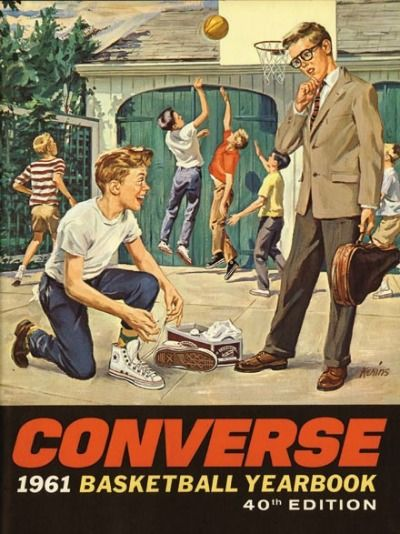 Vintage Advertising Vintage Converse Sneakers Ad Advert Advertisingrow Com Home Of Advertising Professionals Advertising News Infographics Job Offers