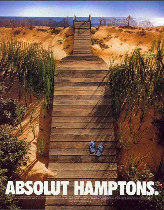 Advertising-Campaign-Absolut-Hamptons-PD Advertising Campaign : Absolut Hamptons PD
