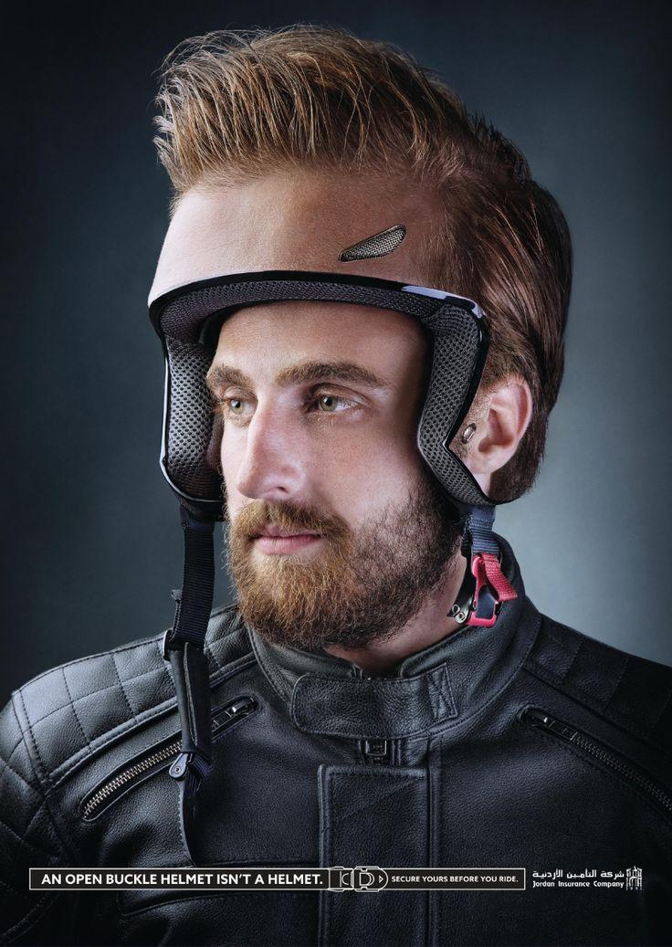 Advertising-Campaign-Jordan-Insurance-Company-Helmets-3 Advertising Campaign : Jordan Insurance Company: Helmets 3