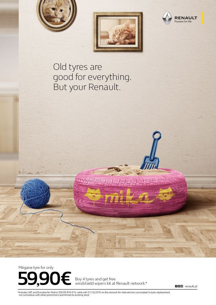 Advertising-Campaign-Renault-Litterbox Advertising Campaign : Renault: Litterbox