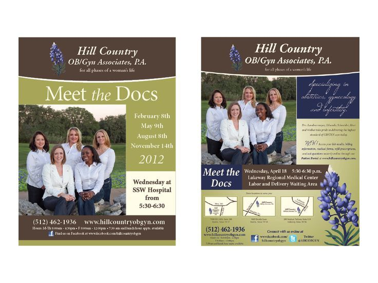 Healthcare-Advertising-Healthcare-Advertising-Announcements-for-Hill-Country-OBGyn-Meet-the-Docs-eve Healthcare Advertising : Healthcare Advertising : Announcements for Hill Country OB/Gyn Meet the Docs eve...