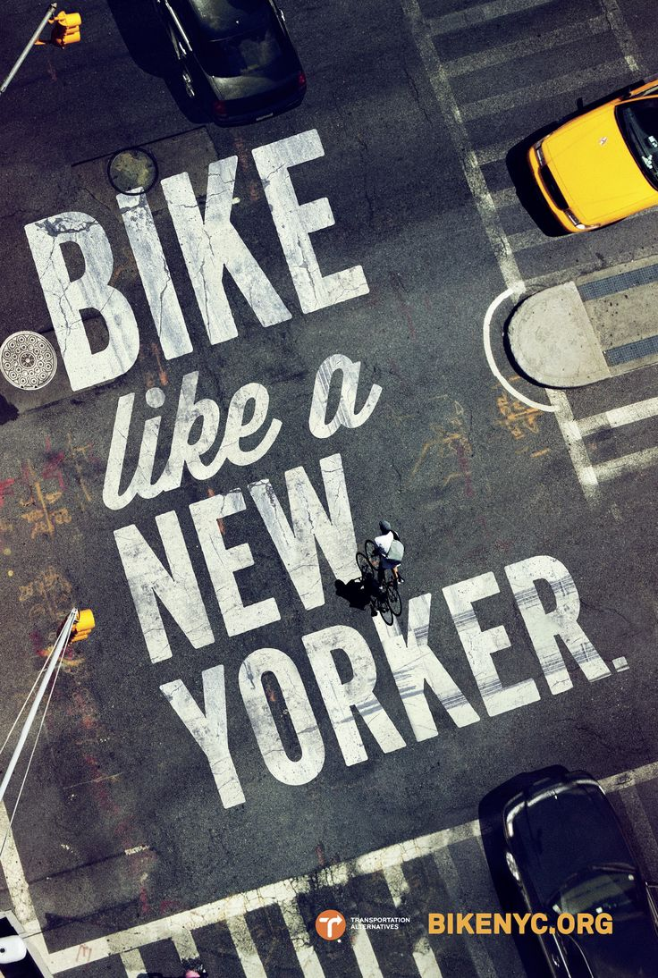 Print-Advertising-BikeNYC-Ad-Print-www.arcreactions Advertising Campaign : #BikeNYC #ad #print