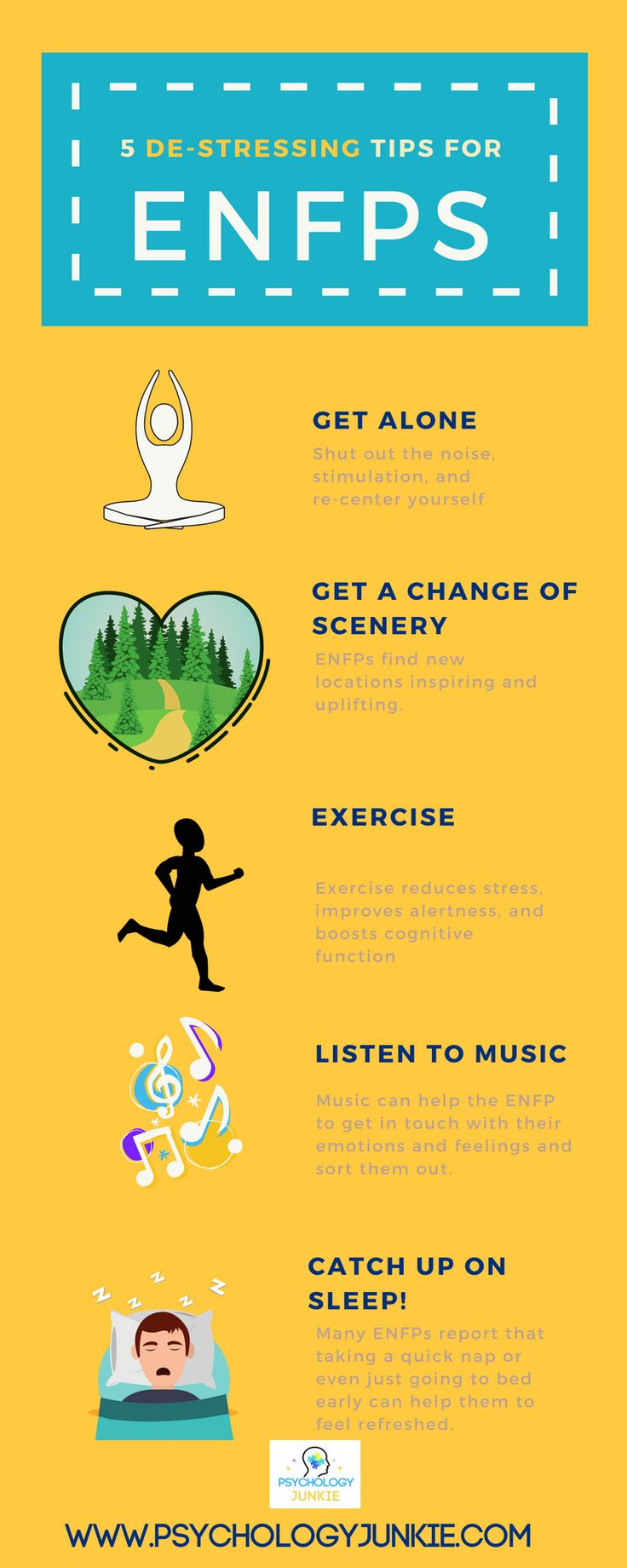 Psychology Infographic : Find 7 stress-relief tips for the ...