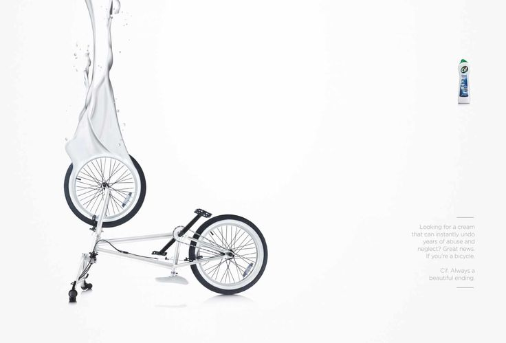 Advertising-Campaign-Cif-Bike Advertising Campaign : Cif: Bike