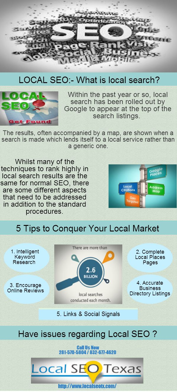 advertising infographics   what is local seo   local area