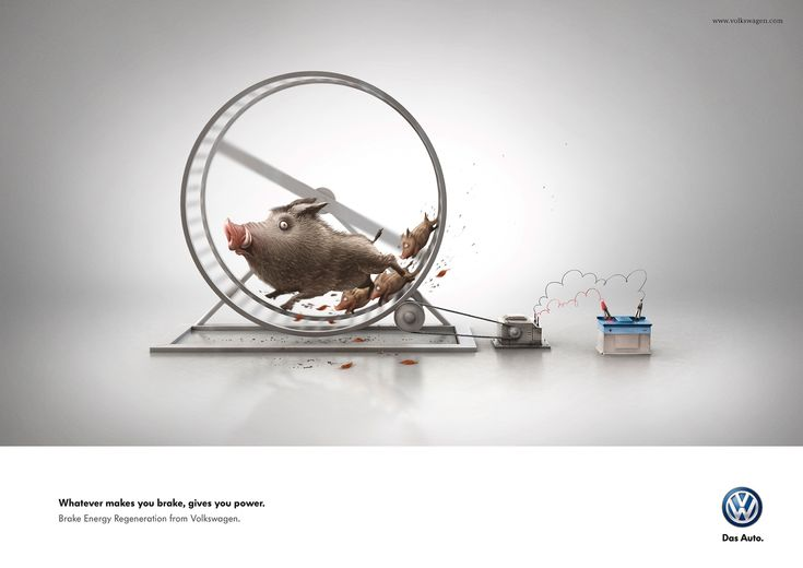 Print-Advertising-Volkswagen-Wild-Hogs-Grabarz-Partner-Hamburg-Germany Print Advertising : Volkswagen: Wild Hogs - Grabarz & Partner, Hamburg, Germany