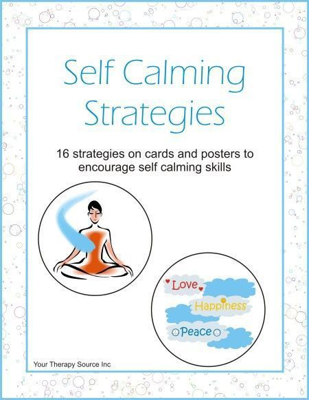 Psychology Infographic : Stress management : SELF CALMING ...