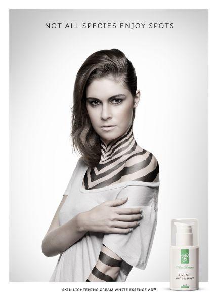 Advertising-Campaign-Ana-Derme-Cosmetics-Zebra-Not-all-species-enjoy-spots Advertising Campaign : Ana Derme Cosmetics: Zebra: Not all species enjoy spots