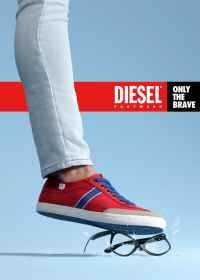 Advertising-Campaign-Diesel-Footwear-Only-the-Brave Advertising Campaign : Diesel Footwear - Only the Brave