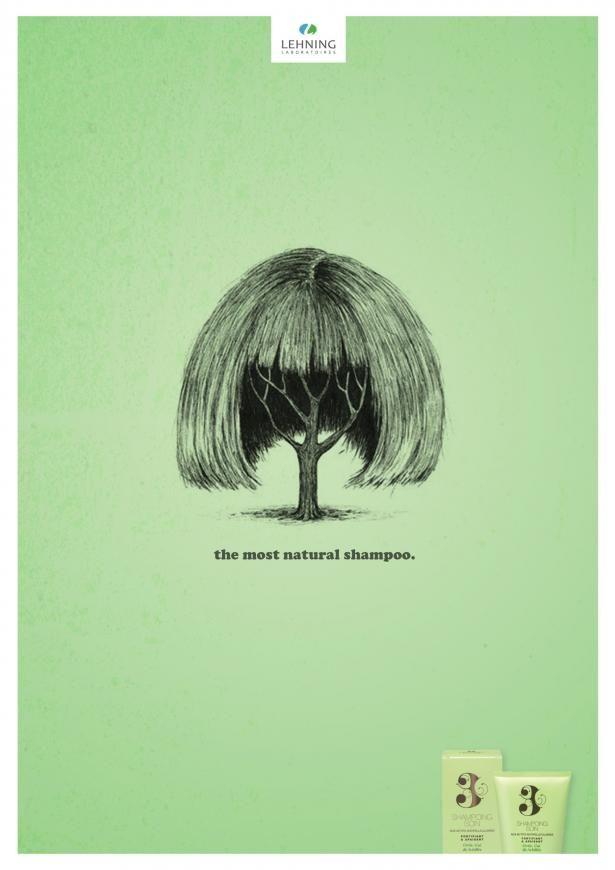 Advertising-Campaign-Lehning-shampoo-Most-natural-1 Advertising Campaign : Lehning shampoo: Most natural, 1