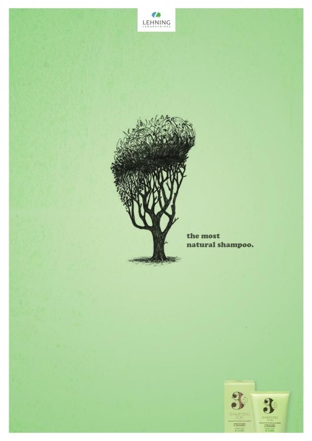 Advertising-Campaign-Lehning-shampoo-Most-natural-2 Advertising Campaign : Lehning shampoo: Most natural, 2