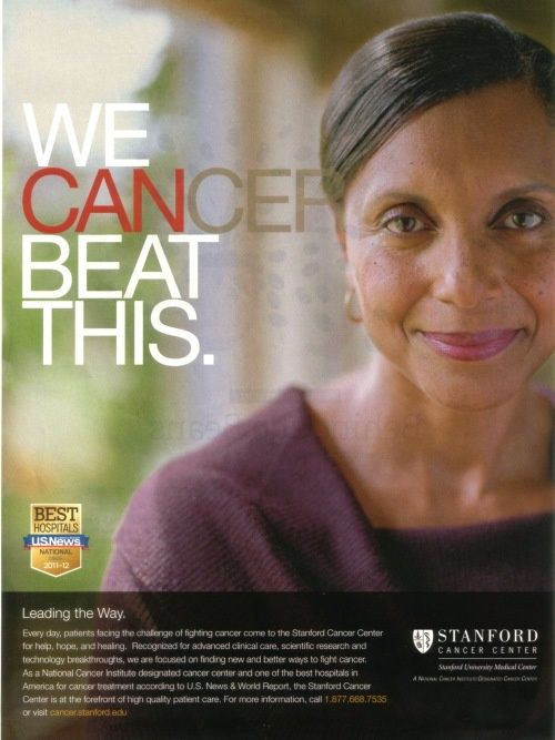 Healthcare Advertising : Stanford Cancer Center