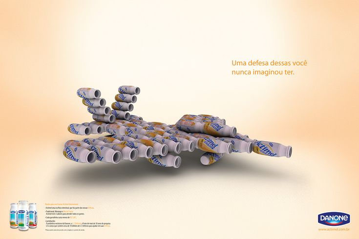 Advertising-Campaign-Anúncios-Proteção-com-Actimel-Danone-on-Behance Advertising Campaign : Anúncios || Proteção com Actimel || Danone on Behance