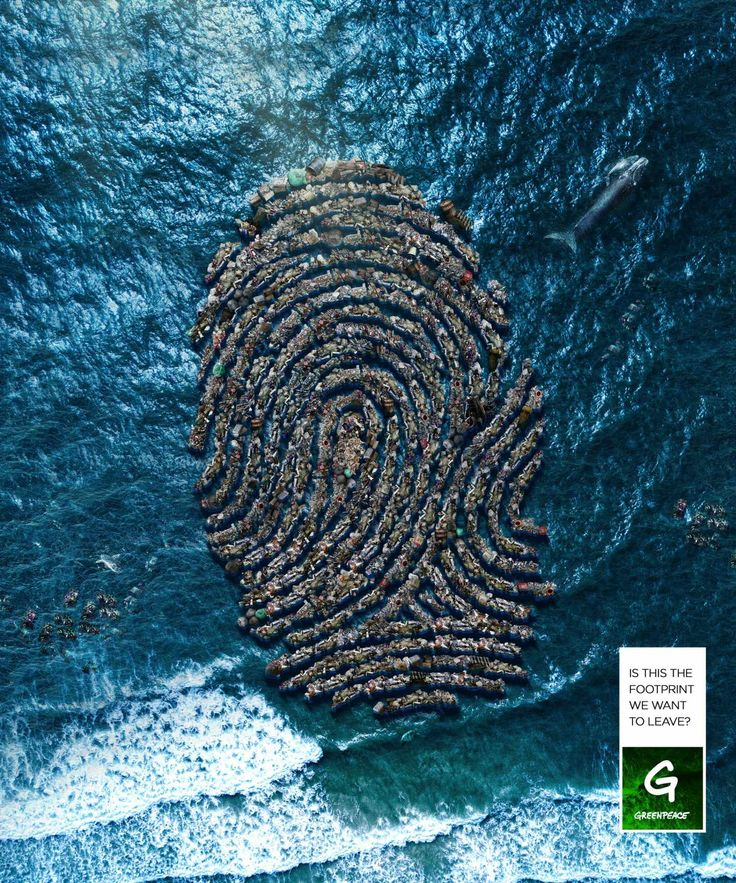 Advertising-Campaign-Greenpeace-Print-Ad-The-Pollution-Footprint-3 Advertising Campaign : Greenpeace Print Ad - The Pollution Footprint, 3