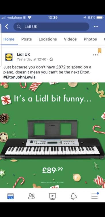 Advertising-Inspiration-Genius-reaction-from-budget-supermarket-to-John-Lewis' Advertising Inspiration : Genius reaction from budget supermarket to John Lewis'...